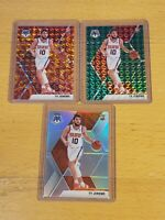 2019 Panini Mosaic Orange Green Silver Prizm Lot of 3 Ty Jerome Debut RC Rookie