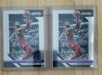 2018-19 Panini Prizm LeBron James Lot of 2 Cavs Lakers