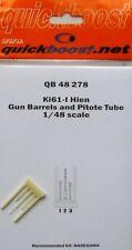 Quickboost 1/48 Kawasaki Ki61-I Hien Gun Barrels and Pitot Tube