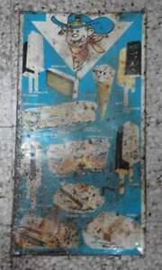 Tabella anni 60 gelati ELDORADO