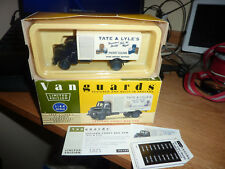 VANGUARDS LEYLAND COMET BOX VAN (TATE & LYLE) MINT BOXED WITH CERTIFICATE