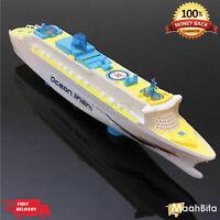 Bump & Go Kids Toy Flashing Light & Sound effect Magical Ocean Liner Ship Gift