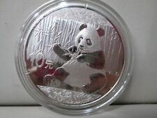 2017 Chinese Panda .999 Silver 10Y 1 Ounce Coin