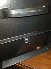 Architectural Mailboxes Gray Black Xl Mailbox polarized with key.