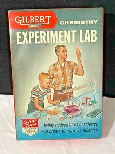 Vintage Gilbert Chemistry Experiment Lab 12026