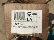 Miller 138543 4 In 1 Control (Dual Left/Right) - New in Old Box - NOB