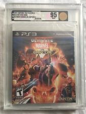 Marvel vs Capcom 3 PS3 Rare Now Out Of Print VGA Graded 95 Gold Mint & Sealed