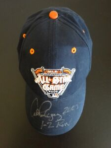 ALEX RODRIGUEZ SIGNED AUTO 2005 ALL STAR GAME BASEBALL STAT HAT AUTOGRAPHED