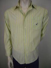 Nautica Striped Long Sleeve Casual Shirts for Men