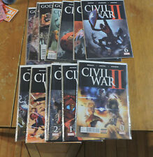Civil War II #0, 1-8 (Marvel 2016) Bendis Copiel Marquez complete series NM