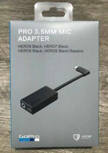 OEM GoPro Pro 3.5mm Mic Adapter for HERO8 /HERO7 / HERO6 And 5 Black AAMIC-001