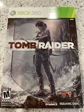 Tomb Raider (Microsoft Xbox 360) Steelbook Video Game Complete