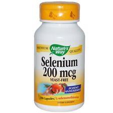 Selenium, 200mcg x 100 Capsules - Natures Way