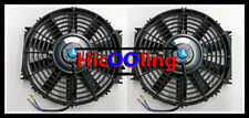 Universal Two 16 inch 12V volt Electric Cooling Fan Thermo Fan + Mounting kits