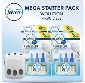 Febreze Ambi Pur 3Volution Air Freshener Plug-In Diffuser Refill Starter Kit