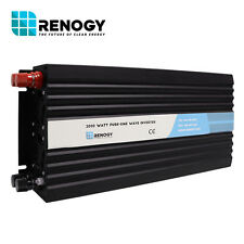 OpenBox Renogy 2000W 12V Off Grid Pure-Sine Wave Battery Inverter Fair Condition