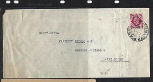 BRITISH FORCES IN ERETRIA COVER (P0612B) 65C/8D KGVI GB COVER TO SUDAN