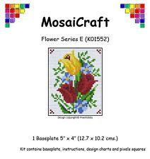 MosaiCraft Pixel Craft Mosaic Art Kit 'Flower Series E' Pixelhobby