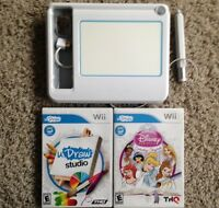 Wii uDraw Disney Princess: Enchanting Storybooks & Studio Art Game Tablet Bundle
