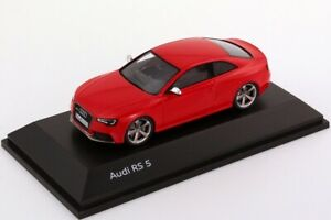 """VERY RARE AUDI A5 S5 """"RS5"""" 8T QUATTRO COUPE MISANO RED 1:43 SPARK (DEALER MODEL)"""