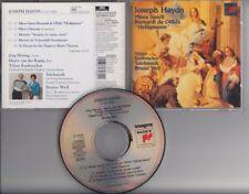 JOSEPH HAYDN Missa Sancti TÖLZER KNABENCHOR BRUNO WEIL CD SONY CLASSICAL