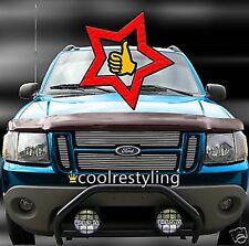 FOR 02 03 04 05 06 Ford Explorer Sport Trac Billet Grille 4pcs overlay inserts
