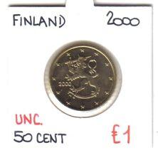 50  EUROCENT  2000     FINLAND      UNC