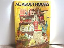 A  GOLDEN BOOK  ALL ABOUT HOUSES / written and illustrated by William Dugan 1975