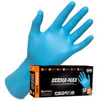 Gloves - SAS DERMA-MAX XL - Powder-Free Disposable Nitrile  50-PK 8 Mil #6609-40