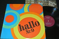 HALLO Nr.9 Blue Effect, Omega, Breakout, Puhdys/ DDR LP 73 + Poster AMIGA 855339