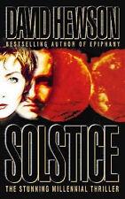 Hewson, David, Solstice, Paperback, Very Good Book
