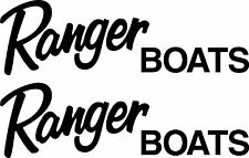 2 Ranger Boat Decals  FREE SHIPPING