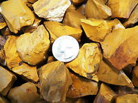 2000 Carat Lots of Yellow Jasper Rough - Plus a FREE Faceted Gemstone