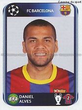 N°215 DANIEL ALVES BRAZIL FC.BARCELONA UEFA CHAMPIONS LEAGUE 2011 STICKER PANINI
