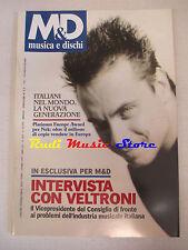 Rivista M&D MUSICA E DISCHI 610/1998 Nek Articolo 31 Simply Red Antonacci No cd