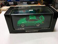 MINICHAMPS PORSCHE 911 RS 1995 GREEN 1/43 430065106