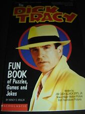 The Dick Tracy Fun Book of Puzzles and Games by Nancy Krulik 1990 Paperback
