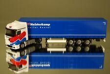 "Herpa 001814 MB ACTROS BIGSPACE tendine pianificare autoarticolati ""Heisterkamp RENTAL"" NL"