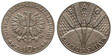 1971 Poland 10 ZL Proba-Wheat