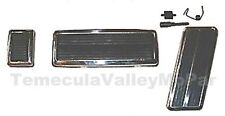 Pedal & Bezel Set for 1973-1974 MoPar E-Body w/Auto Trans