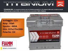 FIAMM - TITANIUM PRO  L1 50P 50Ah 460 EN  - BATTERIA AUTO