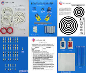1976 Williams Space Odyssey Pinball Deluxe Tune-up Kit - Includes Rubber Rings