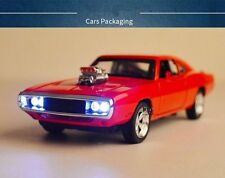 Red Collection Alloy Diecast Car Model Gifts1/32 Fast & Furious 7 Dodge Charger