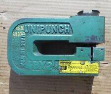 Unipunch 4B21/4 4 B 2 1/4 Heavy Duty C-Frame Punch Tool