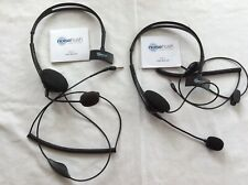 NoiseHush / Noise Hush NX70 3.5mm Headsets with Mic (set of two)