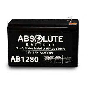 NEW 12V 8AH Battery Replacement 4 Powerware PW9120 One BAT-700 PW9125-24EBM