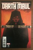 Star Wars Darth Maul #3 1:25 Retailer Incentive 2017 Variant Marvel Comic Book