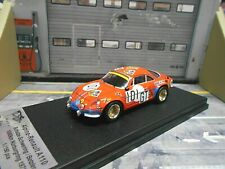 RENAULT Alpine A110 Nürburgring 1971 #101 GT Schulze Betzler Trofeu Scala 1:43