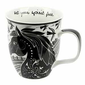 Karma Gifts Boho Black and White Mug Octopus