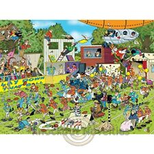 1000 Piece Crowd Pleasers - Chaos On The Field Jigsaw Puzzle Jig Saw
